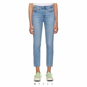 LEVIS Cropped 501 Wedgie